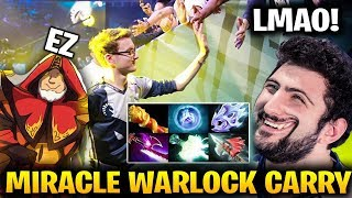 With MIRACLE and GH Everything IS POSSIBLE: Warlock SUPER CARRY BUILD LMAO!