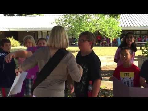 Susan's Surprise at Pine Trail Elementary School  Slideshow 5 Display