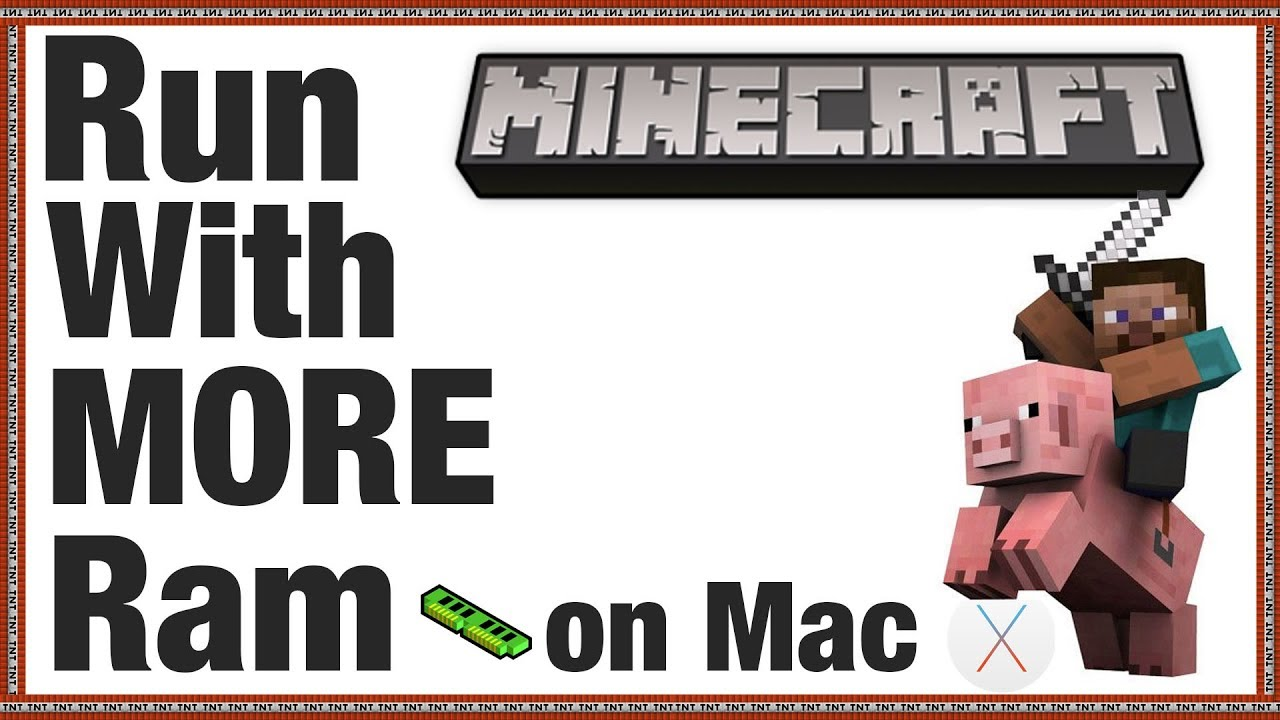 Run Minecraft Server with MORE Ram | mac OS