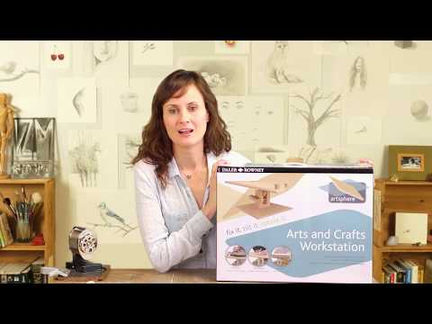 The Daler Rowney Art Sphere Table Easel Unboxing & Review