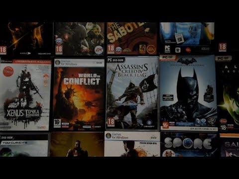 Моя коллекция игр в DVD-Box