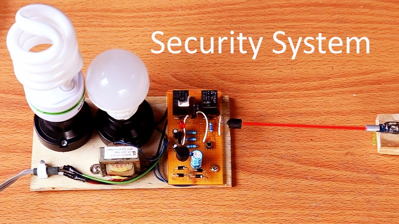 How to make security light alarm system circuit at home laser how to make security light alarm system circuit at home laser alarm light circuit aloadofball Images