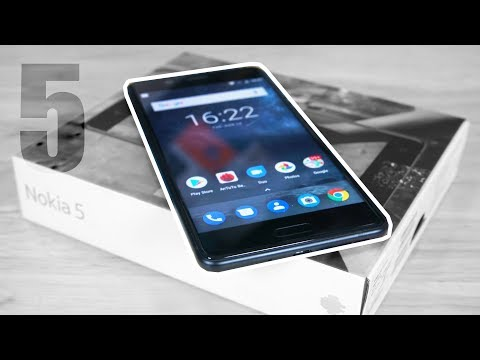 Nokia 5 - Unboxing & Hands On!