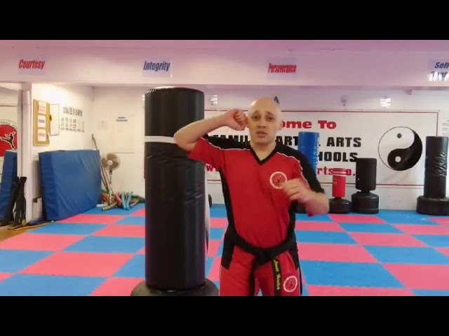 Mr Tandoh with a quick video about Filipino empty hand techniques mainly hammer fists