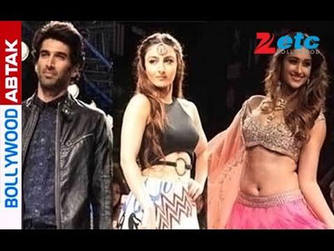 Aditya Roy Kapur, Gauri Khan, Soha Ali Khan at Lakme Fashion Week  Day 3