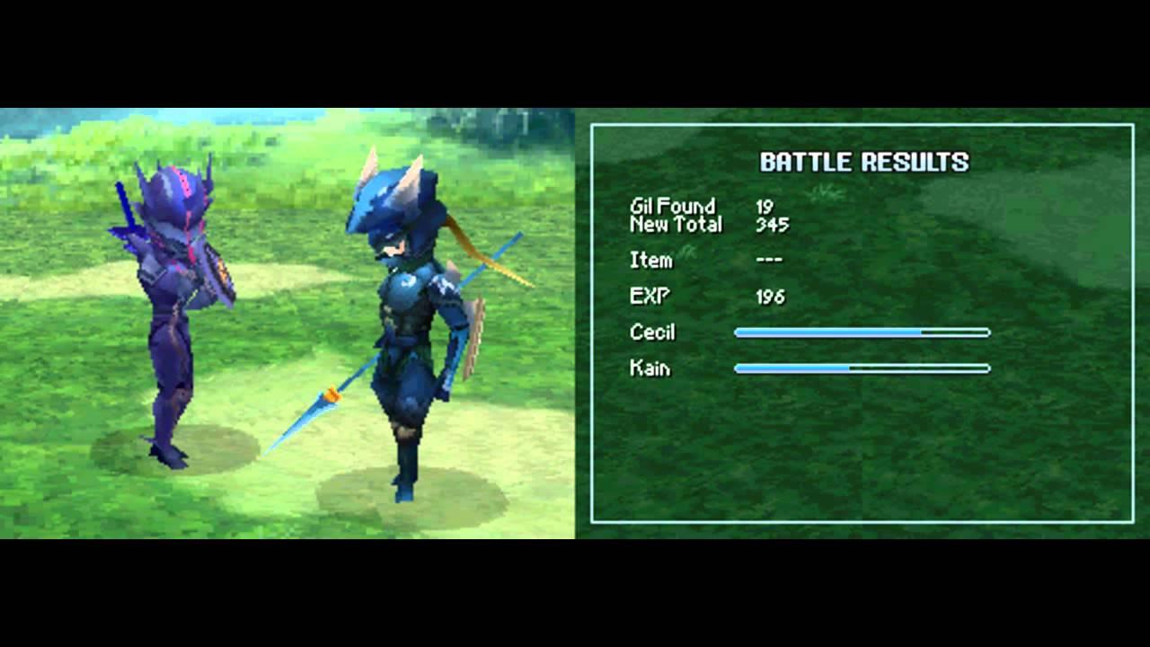 Final Fantasy Iv Ds Walkthrough 1 2 Part 2 Youtube