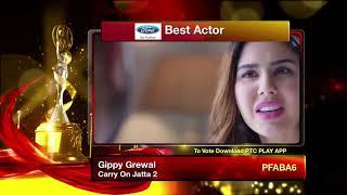 PTC Punjabi Film Awards 2019 I Best Actor  I PTC Punjabi