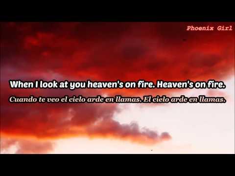 The Radio Dept. - Heaven's On Fire [Sub español + Lyrics]