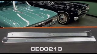 OPGI Product Spotlight: 1965-70 Cadillac Fisher Body Step Plates