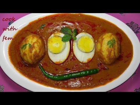 Hyderabadi Shahi Andey Ka Salan    Delicious Egg Curry Recipe    Andey Ka Salan By Cook With Fem
