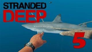 Прохождение Stranded Deep -5- Сделал из акулы ежа