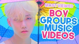 top 30 | MOST VIEWED KPOP BOY GROUPS & MALE SOLO MUSIC VIDEOS OF 2019 (August)