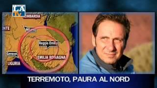 Il terremoto spaventa il Nord Italia