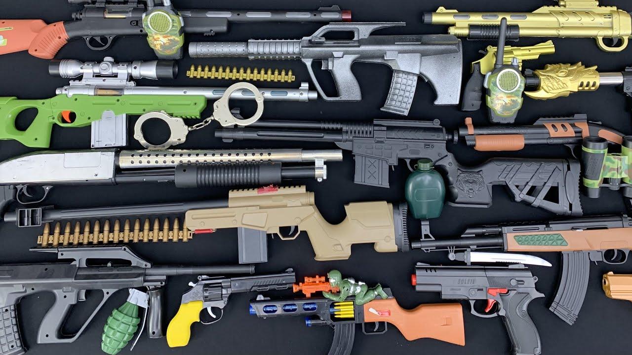 Long Caliber Rifles! Treasure of the Hunter Reward Box! Shields and Guns!