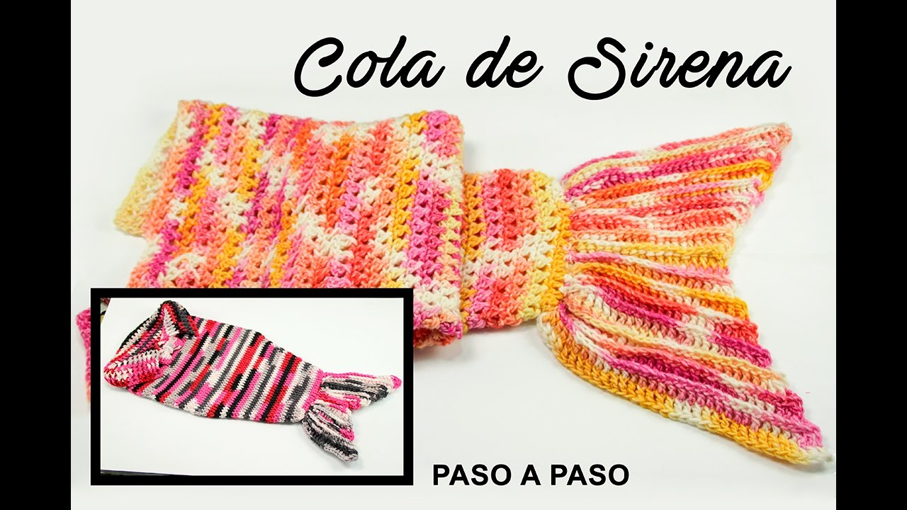 DIY. COLA DE SIRENA PASO A PASO. - YouTube