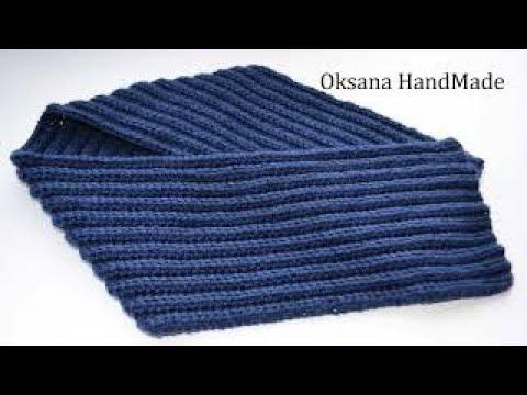 Вопрос: Как связать шарф крючком для начинающих?