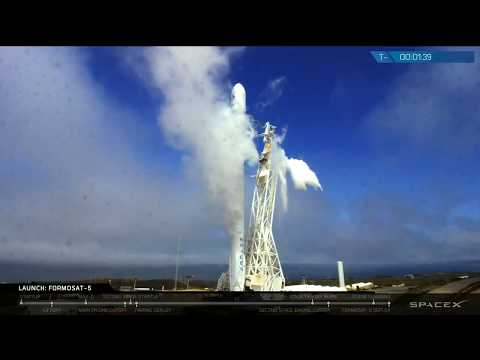 Falcon 9 Launches on Long-Delayed Mission with Taiwan's FormoSat-5