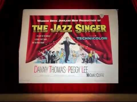 Baumwoll Archives Presents The Jazz Singer - Movie Stills & Song , Danny Thomas & Peggy Lee