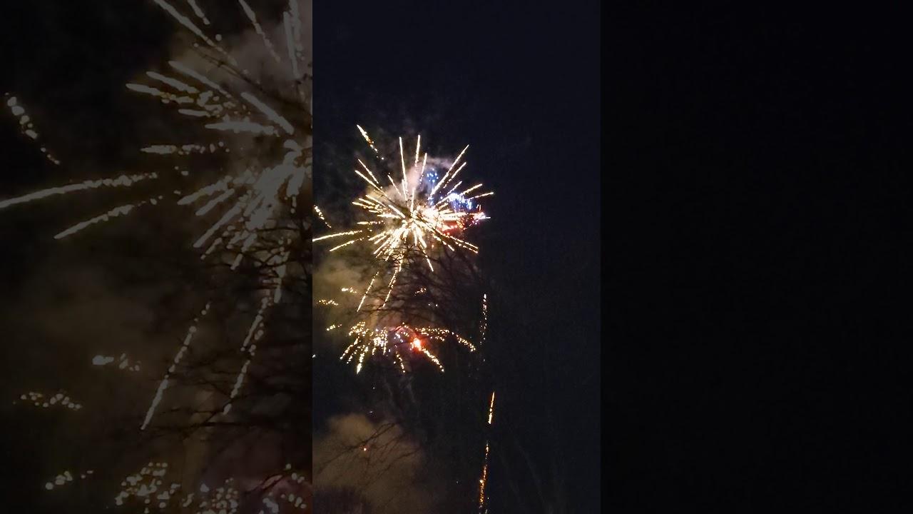 Silvester 2019/2020 Feuerwerk - MemorieZ Dortmund