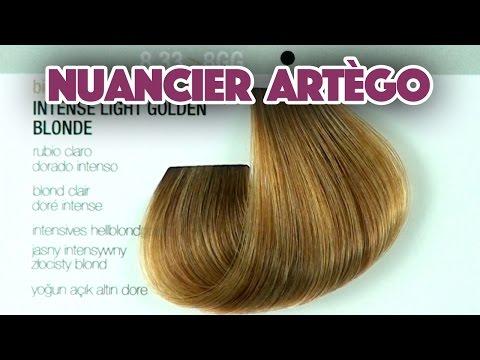 Coloration Cheveux : Nuancier artego