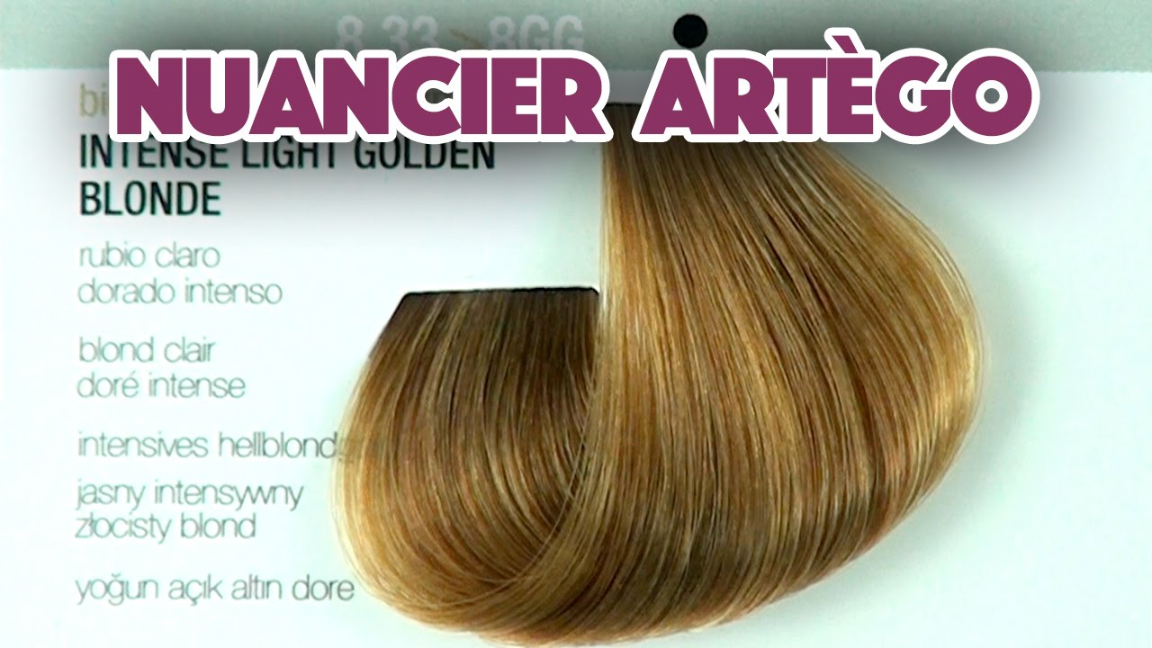 Coloration Cheveux Nuancier Artego Its Color Youtube