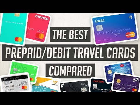 Best Prepaid / Debit Travel Cards Compared | 2019