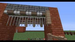 Basic Piston Gate - Minecraft 1.1 (Read Description)