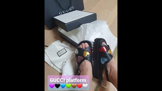 Gucci sandals unboxing 구찌 샌들 언…