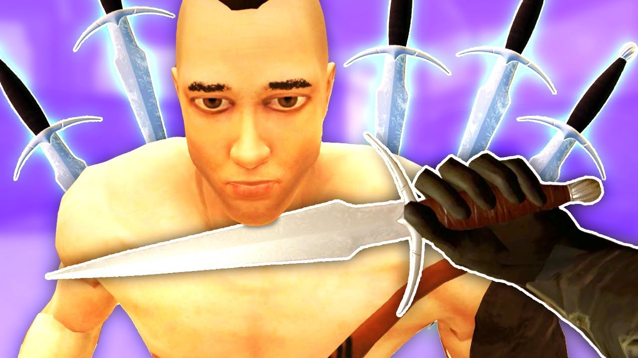THERE'S MODS?! Better Dagger Mod - Blade and Sorcery Modded VR Gameplay