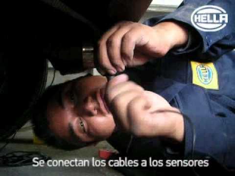 Como instalar sensores de reversa HELLA