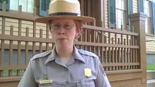 Lincoln Home park ranger Tiffany Bowles