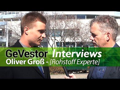 Direkt aus Toronto: Interview GeVestor-Rohstoffexperte Oliver Groß