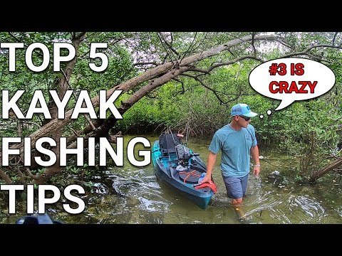 Top 5 Kayak Fishing Tips - MUST KNOW Kayak Info