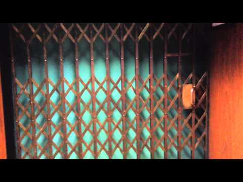 Antique Otis Traction Elevator at Medical Arts Building in San Mateo, CA