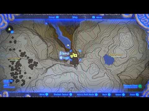Misko The Great Bandit Zelda >> Botw 080a Map Of Misko S Treasure Misko The Great Bandit Youtube