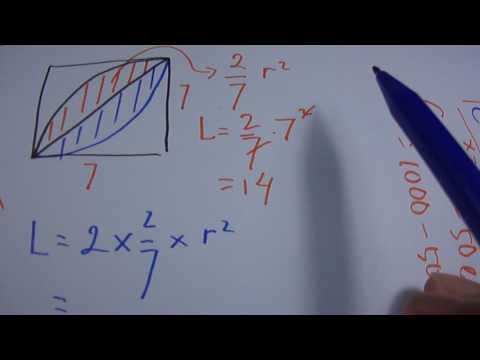 Menghitung Luas Lingkaran & Tembereng 10
