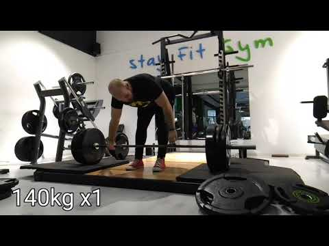 "Max Effort Lower - 1"" Block Snatch Grip Deadlift 1RM PR"