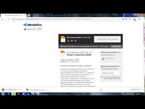 Descargar E Instalar MVP Baseball 2005 Para Pc (Link Directo Mediafire) Windows 7/8/10