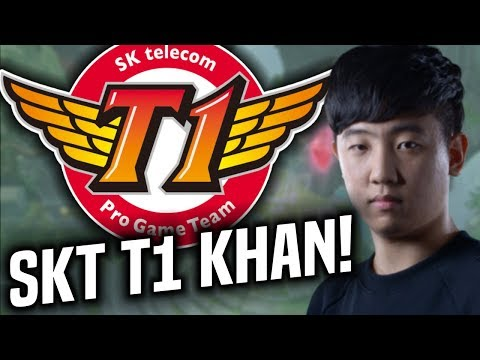 SKT T1 KHAN is CONFIRMED! *SKT T1 NEW TOPLANER* - SKT T1 Khan Picks Jayce Mid! | SKT T1 Replays