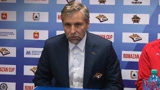 Йозеф Яндач: Сегодня мы видели больше борьбы, чем хоккея
