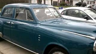 Studebaker Commander 1949 After Restoration Part One