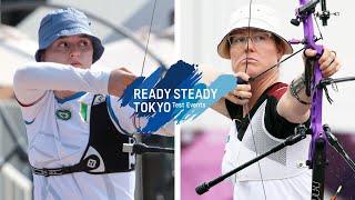 Tatiana Andreoli v Lisa Unruh – recurve women 3rd round | Tokyo 2020 Olympic Test