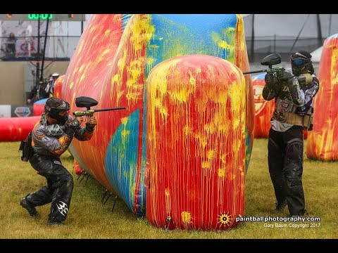 Awesome NXL Pro Paintball - Impact vs AC Dallas and Damage vs Aftershock