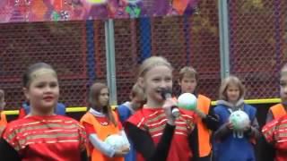 Открытие II Малых олимпийских игр в школе 1352