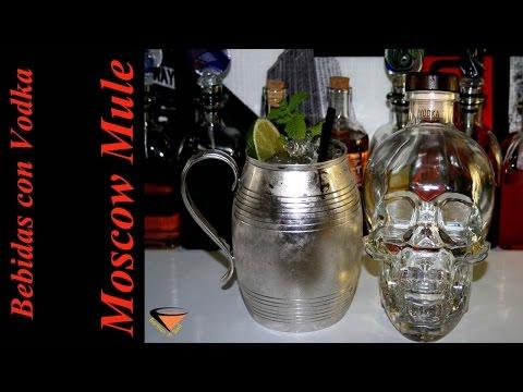cómo hacer el cóctel MOSCOW MULE - Bebidas con Vodka