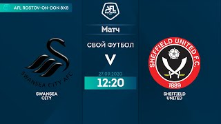 Swansea City 2 0 Sheffield United 16 тур Англия