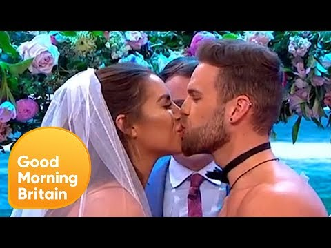 Love Island's Jess and Dom Get Married Live on TV! | Good Morning Britain
