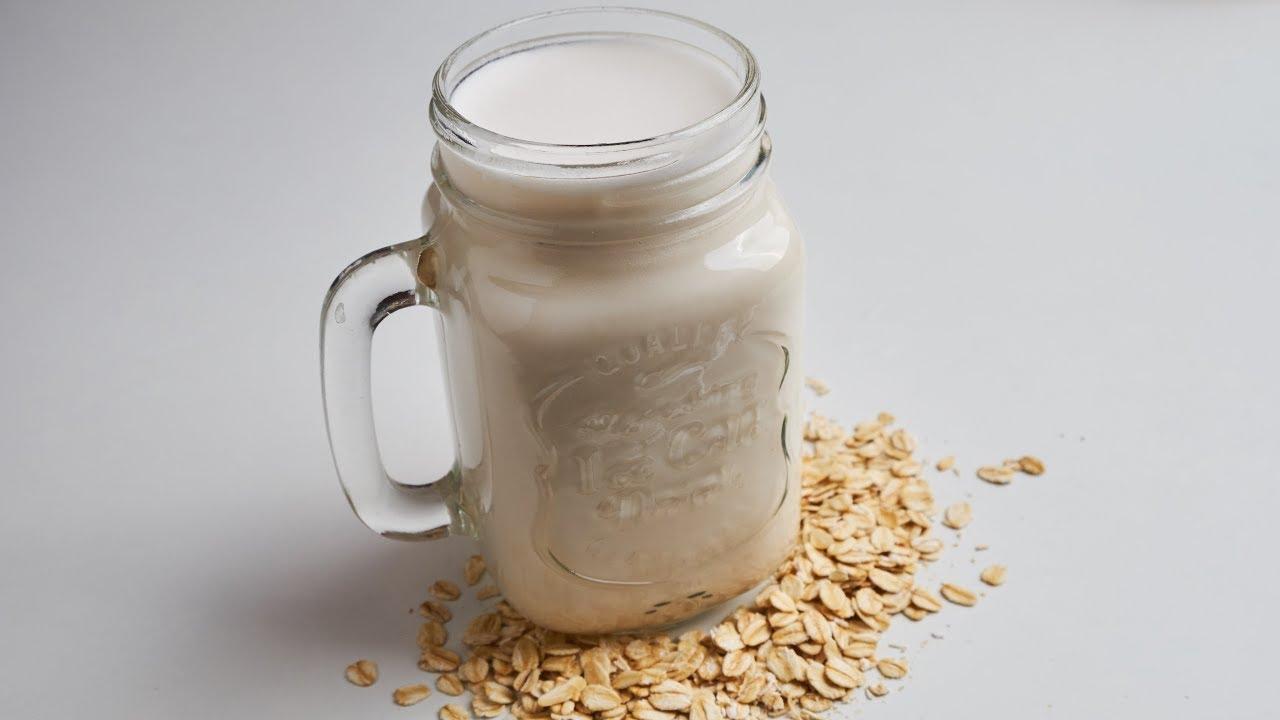 Susu oat sebagai alternatif lain susu non-hewani. Foto: Youtube