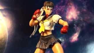 R293 Square Enix Play Arts Kai Super Street Fighter Iv 4 Sakura Review
