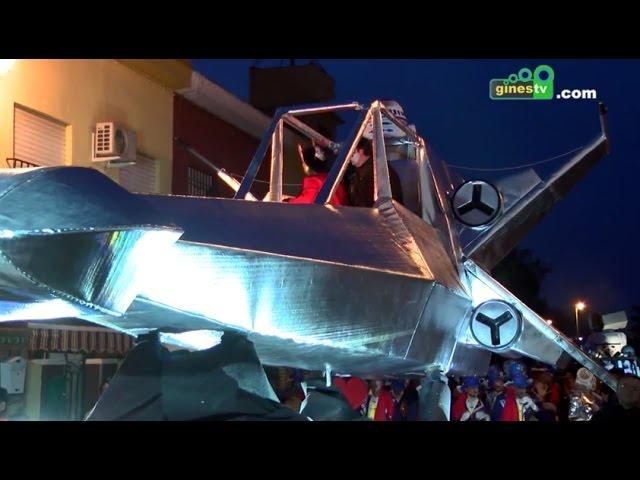 Gran Desfile del Carnaval de Gines 2016 (COMPLETO)